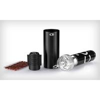Crankbrother Cigar, la herramienta perfecta para reparar tus neumáticos tubularizados. Como siempre con un diseño bien pensado y con la calidad  acostumbrada de todos los productos Crankbrothers.  Incluye la herramienta de instalación de tarugos (tripas), las tripas, una válvula para CO2, el cilindro de almacenamiento y el soporte de montaje. Pesa sólo 55 gramos!  PRECIO: $27.900.-  (No incluye el CO2)