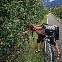 Abastecimiento en ruta 😍 Feliz viernes y comienzo de finde pedaleo!  #bicimundo #piensaglobalvivelocal